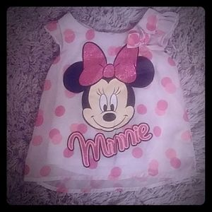 Minnie Mouse girls shirt